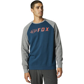 Fox Apex Bluza polarowa Mężczyźni, niebieski/szary